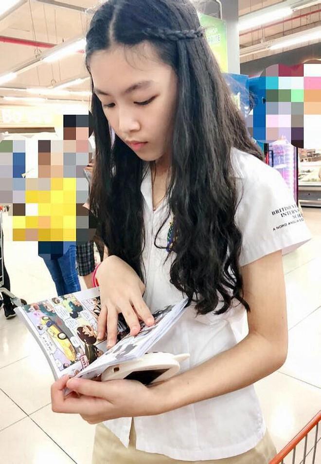 Con gái 14 tuổi của MC Quyền Linh được khen xinh như hoa hậu - Ảnh 7.