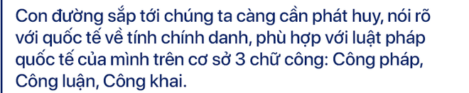 Đại sứ Phạm Quang Vinh: Không chấp nhận TQ áp đặt Đường lưỡi bò phi lý, xâm phạm vùng biển hợp pháp của Việt Nam - ảnh 9