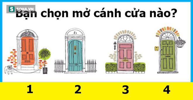 Bạn muốn mở cánh cửa nào nhất ở đây? Đáp án sẽ hé lộ tính cách hấp dẫn nhất ở bạn - Ảnh 1.