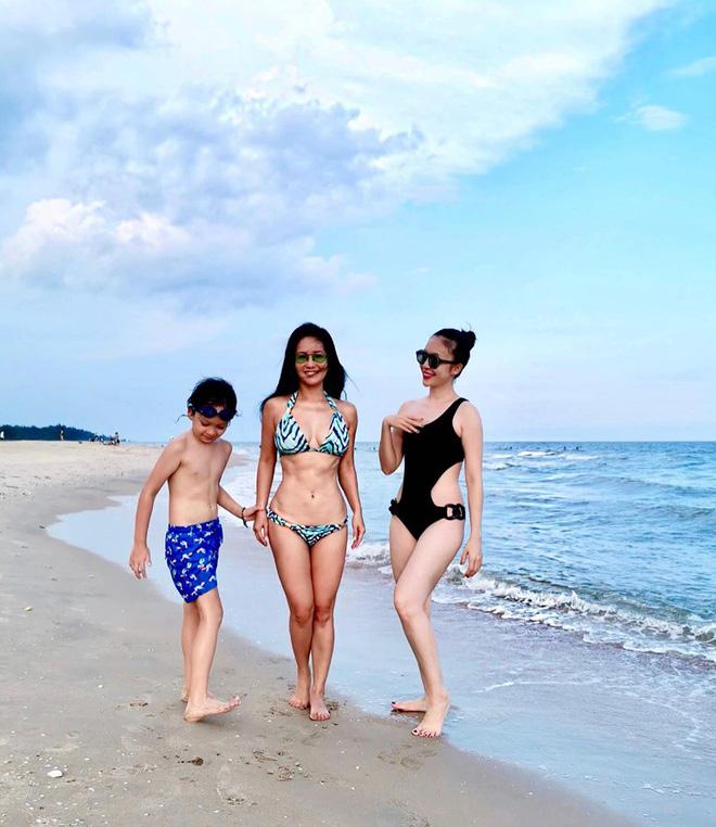 Diva Hồng Nhung và diễn viên múa Linh Nga diện bikini gợi cảm - Ảnh 3.