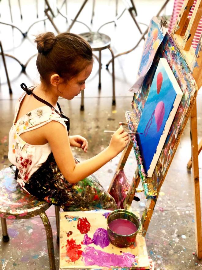 Điểm mặt hội ái nữ nhà sao Việt: Còn nhỏ đã có năng khiếu nghệ thuật, xinh đẹp chuẩn mỹ nhân tương lai - Ảnh 8.