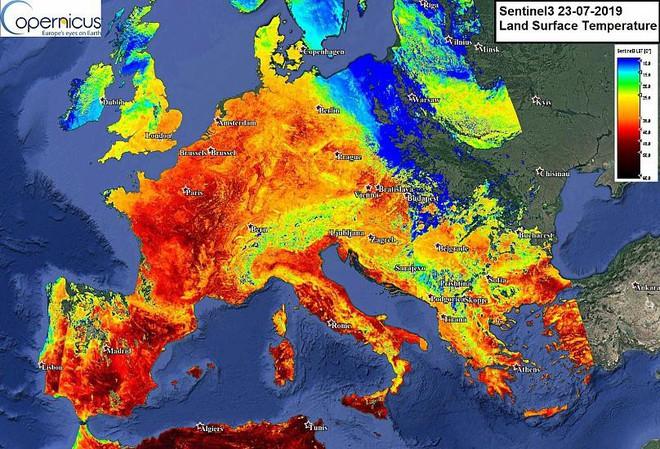 Địa ngục nắng nóng xâm chiếm châu Âu, phá vỡ kỷ lục: Con người nuôi dưỡng hiểm họa gì? - Ảnh 3.