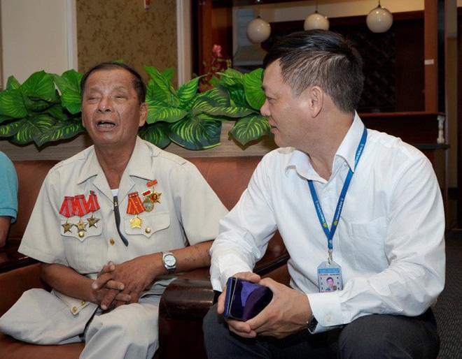 Hành trình đặc biệt tới Hà Nội của cựu tù Côn Đảo và thương binh chiến trường Campuchia - Ảnh 2.