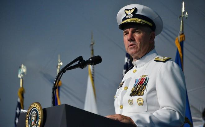 Tư lệnh Tuần duyên Mỹ chỉ trích hành vi không đúng mực của Trung Quốc ở Biển Đông