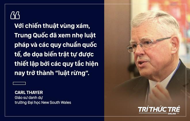GS Carl Thayer: Vỏ bọc ngư dân trong chiến thuật vùng xám nguy hiểm của Trung Quốc trên Biển Đông - ảnh 5