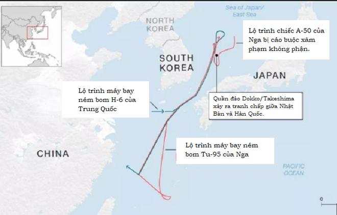 Máy bay Nga bị cáo buộc xâm phạm không phận: Hồi chuông báo động cho Hàn Quốc và Nhật Bản - Ảnh 2.