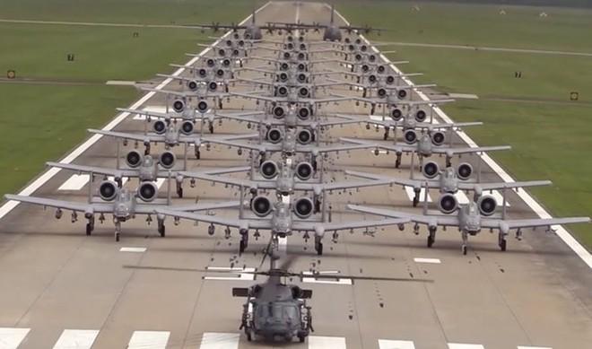 Cường kích A-10 Mỹ bất ngờ tới Hàn Quốc để răn đe Triều Tiên? - Ảnh 13.