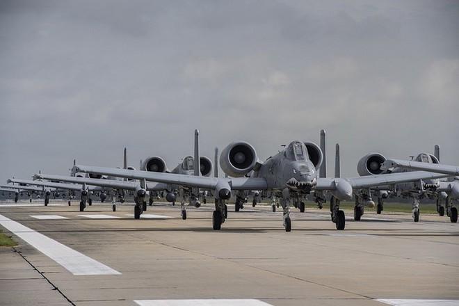 Cường kích A-10 Mỹ bất ngờ tới Hàn Quốc để răn đe Triều Tiên? - Ảnh 7.