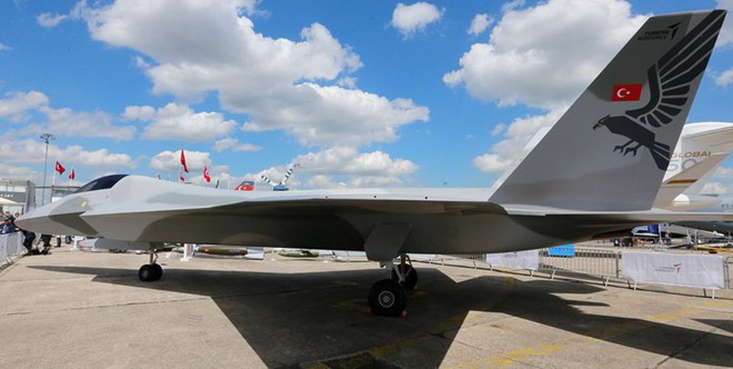 Lộ diện chiến đấu cơ thế hệ 5 TF-X của Thổ Nhĩ Kỳ - Ảnh 3.