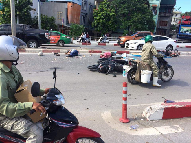 Cận cảnh hiện trường vụ tai nạn khiến 5 người thương vong ở Quảng Ninh - Ảnh 5.