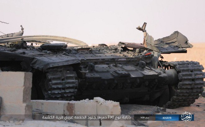 Sự thật gây sốc: 60% số xe tăng T-90 của Quân đội Syria đã bị phá hủy?