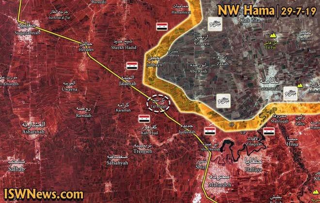 NÓNG: Tam giác thép sụp đổ - QĐ Syria luồn sâu đánh hiểm, chuẩn bị giải phóng bắc Hama? - Ảnh 3.
