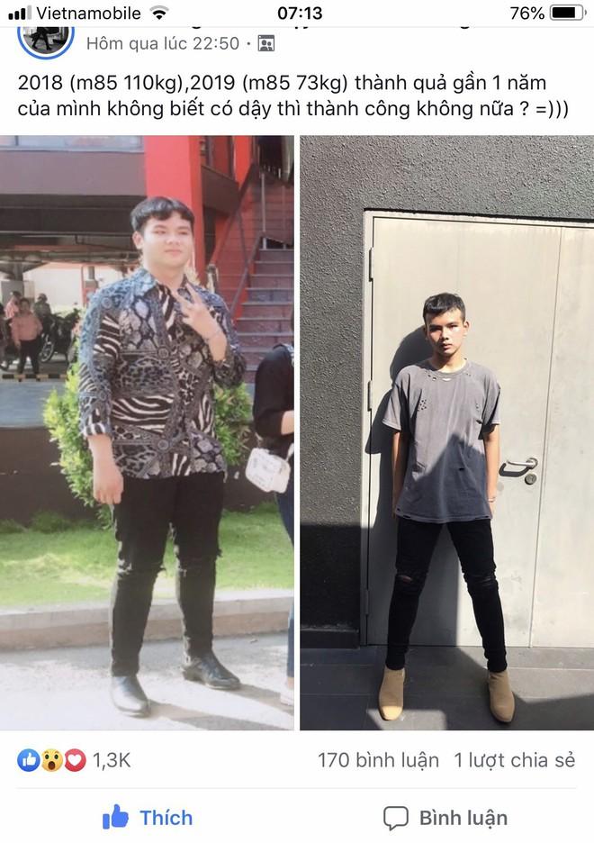 """Chàng trai giảm 40kg trong nửa năm: Khi bị người yêu """"cắm sừng"""" thì đồ ngọt không còn sức hấp dẫn - Ảnh 1."""