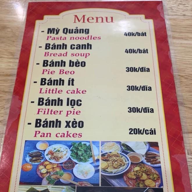 """Quán ăn siêu hài hước khi nhờ chị Google dịch menu từ Việt sang Anh, chấp hết mọi trình độ hiểu """"nem is gone"""" là món gì! - Ảnh 1."""