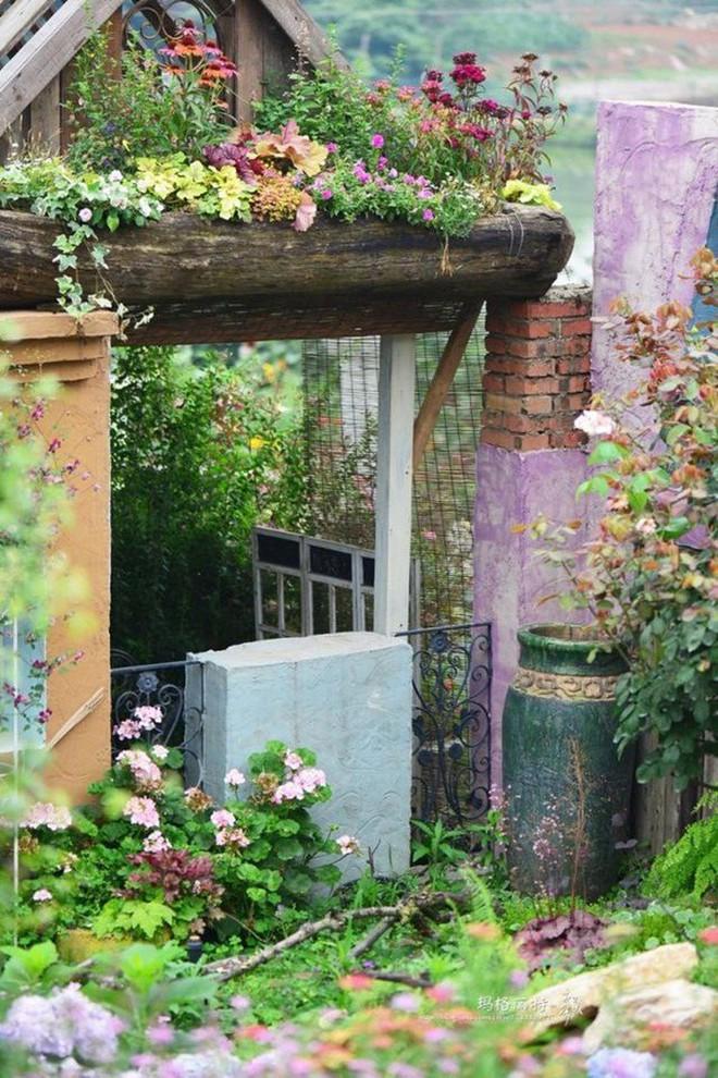 Chìm đắm trong khu vườn đẹp như mê cung nhờ bàn tay khéo léo của người đàn ông yêu thích làm vườn - Ảnh 15.