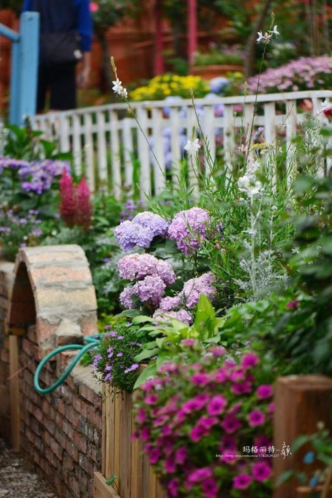 Chìm đắm trong khu vườn đẹp như mê cung nhờ bàn tay khéo léo của người đàn ông yêu thích làm vườn - Ảnh 9.