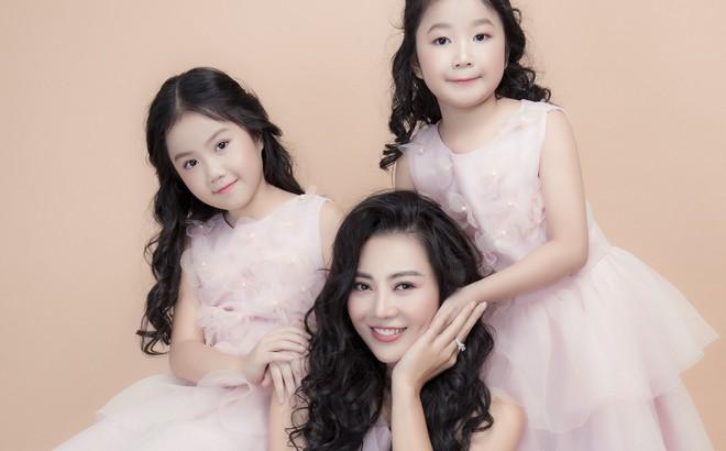 """Thanh Hương nói về 2 cô con gái xinh như thiên thần: """"Với các con, tôi là thần tượng"""""""