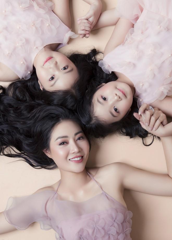 Thanh Hương nói về 2 cô con gái xinh như thiên thần: Với các con, tôi là thần tượng - Ảnh 3.
