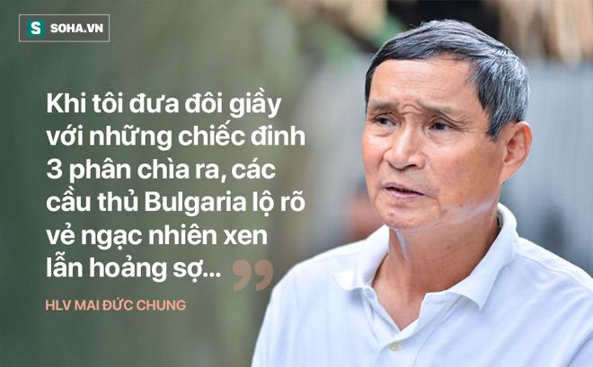 Tượng đài bóng đá Việt: Đôi giày đinh tự chế đâm ngược thủng chân, chảy bê bết máu