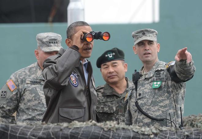 Điểm khác biệt giữa TT Trump và các Tổng thống Mỹ tiền nhiệm khi đến thăm DMZ là gì? - Ảnh 4.