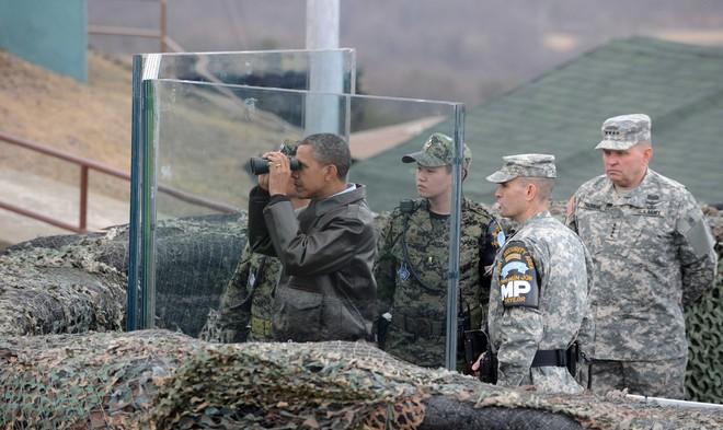 Điểm khác biệt giữa TT Trump và các Tổng thống Mỹ tiền nhiệm khi đến thăm DMZ là gì? - Ảnh 5.