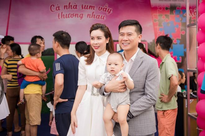 Vợ chồng Lưu Hương Giang - Hồ Hoài Anh thu hút sự chú ý tại sự kiện - Ảnh 3.