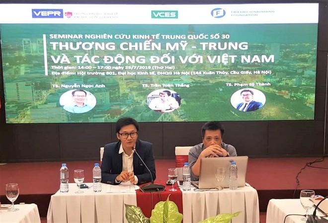 TS Trần Toàn Thắng: VN cần tận dụng lỗ hổng thị trường trong thương chiến Mỹ - Trung - Ảnh 1.