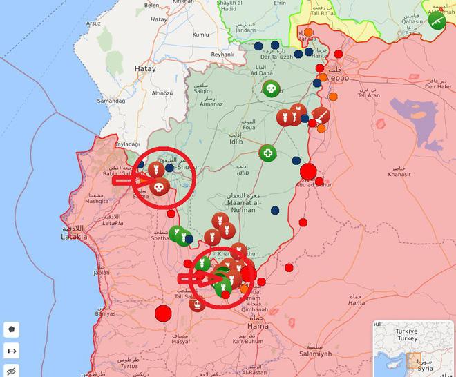 Sát thủ Mi-28 và Ka-52 Nga xung trận quy mô chưa từng có, phiến quân hoảng loạn - S-300 Syria đã sẵn sàng - Ảnh 8.