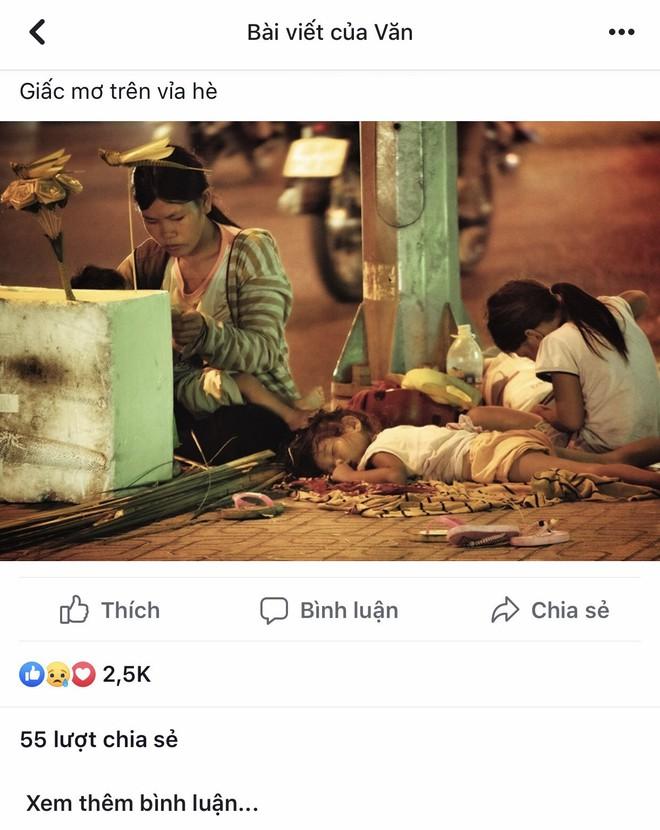 Rút tờ 20 nghìn giúp 4 mẹ con vô gia cư, nhiếp ảnh gia thẹn thùng trước lời đáp của chị - Ảnh 1.