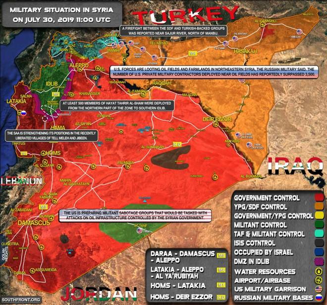 Sát thủ Mi-28 và Ka-52 Nga xung trận quy mô chưa từng có, phiến quân hoảng loạn - S-300 Syria đã sẵn sàng - Ảnh 20.