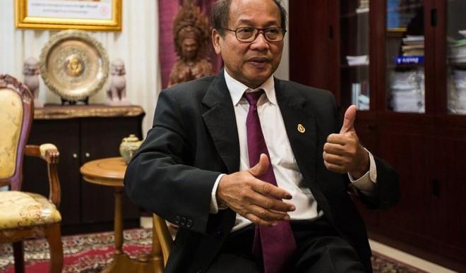 Người phát ngôn chính phủ Campuchia nói biển Đông ổn định, người ngoài đừng viện cớ tự do hàng hải để gây rối - Ảnh 1.