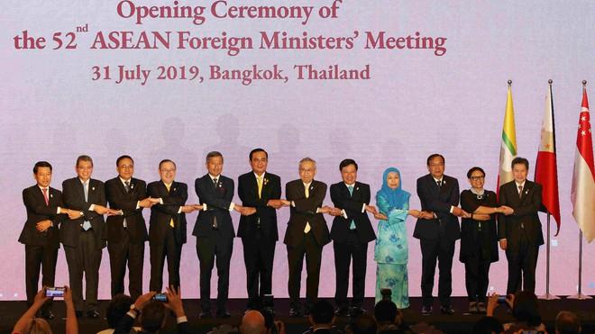 Tuyên bố chung của ASEAN bày tỏ quan ngại về căng thẳng trên Biển Đông - Ảnh 2.