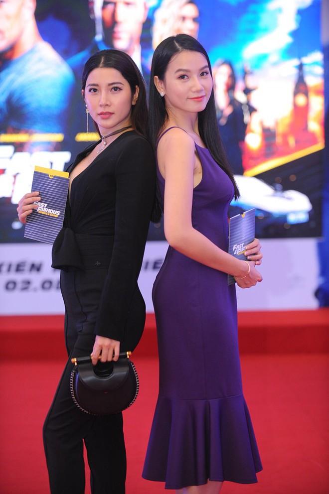 Diễn viên Lương Giang đọ sắc với Á hậu Yan My - Ảnh 1.
