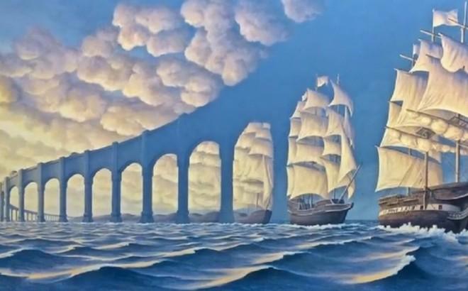 Hình ảnh đầu tiên bạn nhìn thấy trong bức tranh biển cả tiết lộ bạn là người sống thiên về lý trí hay cảm xúc