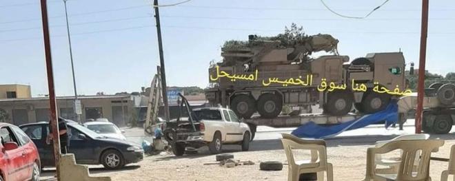 [NÓNG] Pantsir-S1 của UAE bắn rơi MiG-23UB: Thổ điều khủng bố từ Syria sang Libya? - Ảnh 3.