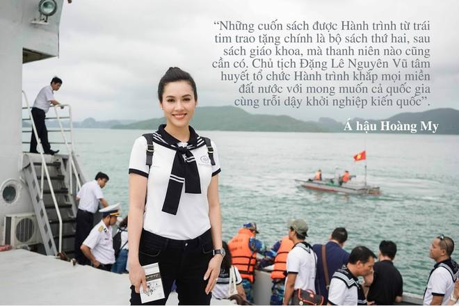 """Những câu nói ấn tượng của sao Việt trong """"Hành trình Từ Trái Tim"""" vùng biển đảo - Ảnh 3."""