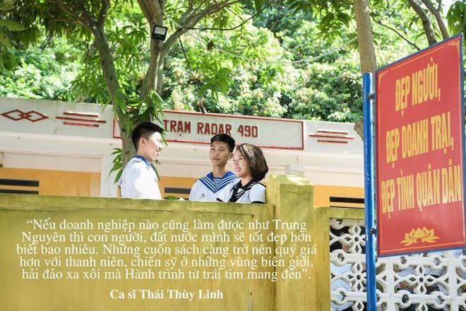 """Những câu nói ấn tượng của sao Việt trong """"Hành trình Từ Trái Tim"""" vùng biển đảo - Ảnh 5."""