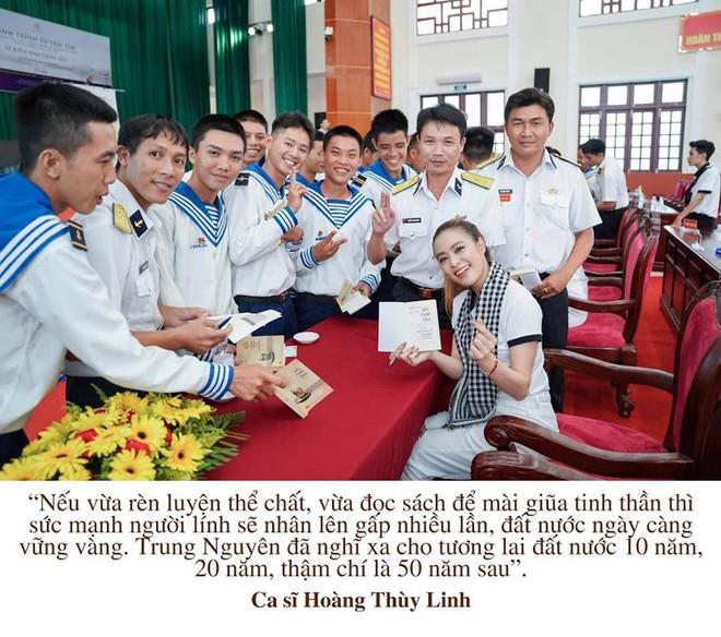 """Những câu nói ấn tượng của sao Việt trong """"Hành trình Từ Trái Tim"""" vùng biển đảo - Ảnh 6."""