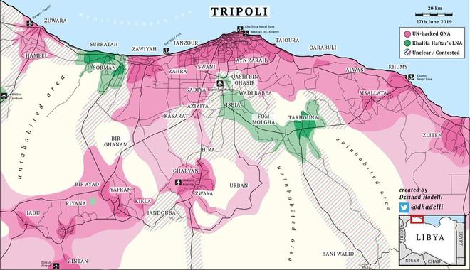 Libya: Lực lượng LNA sụp đổ trước ngưỡng cửa thiên đường Tripoli như thế nào? - Ảnh 6.
