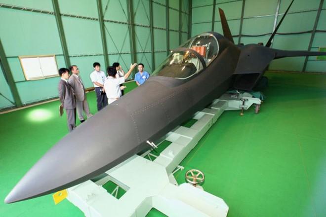 Bại binh trước F-22 có phục hận, trở thành máy bay tàng hình F-3 của Nhật? - Ảnh 2.