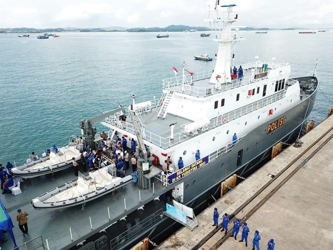 Indonesia triển khai tàu tuần tra tối tân ra Biển Đông - Ảnh 1.