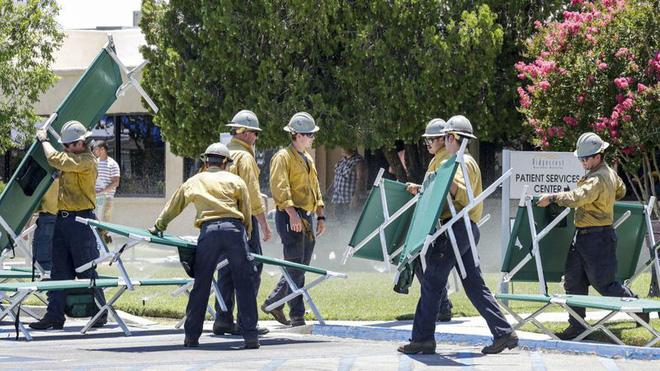 Động đất mạnh 7,1 độ ở California có sức hủy diệt bằng hàng trăm nghìn tấn TNT - Ảnh 1.