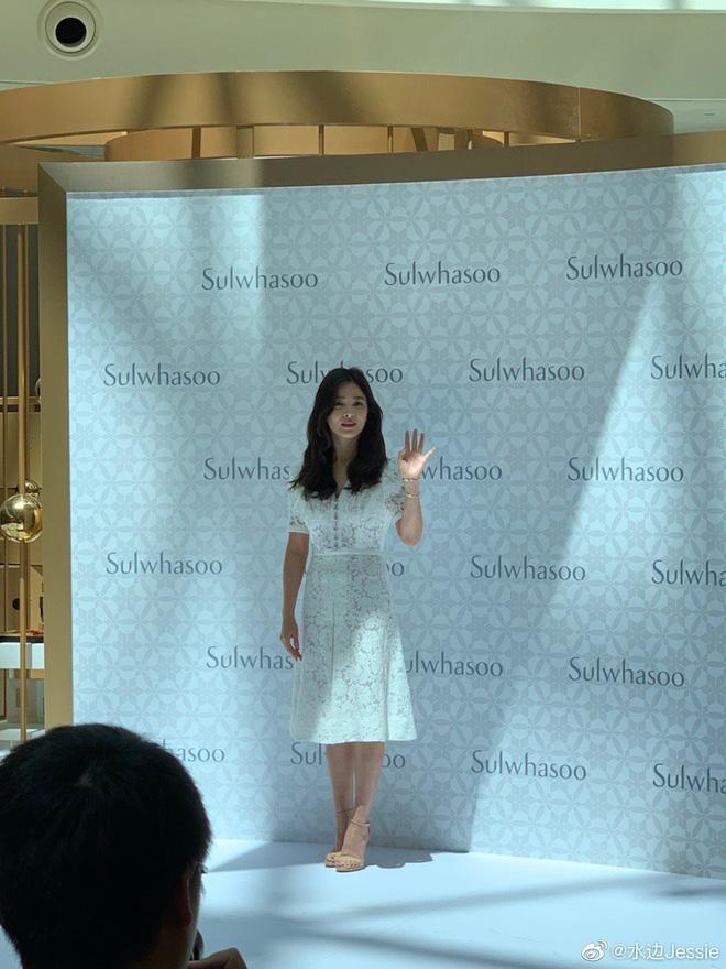 HOT: Song Hye Kyo lần đầu xuất hiện sau ly hôn, sụt cân nghiêm trọng ai cũng đau lòng - Ảnh 1.