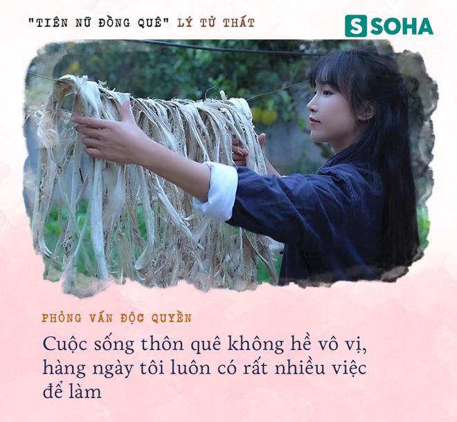 Lý Tử Thất trả lời độc quyền báo Việt Nam, hé lộ cuộc sống thực sau những hình đẹp như tiên cảnh - Ảnh 5.