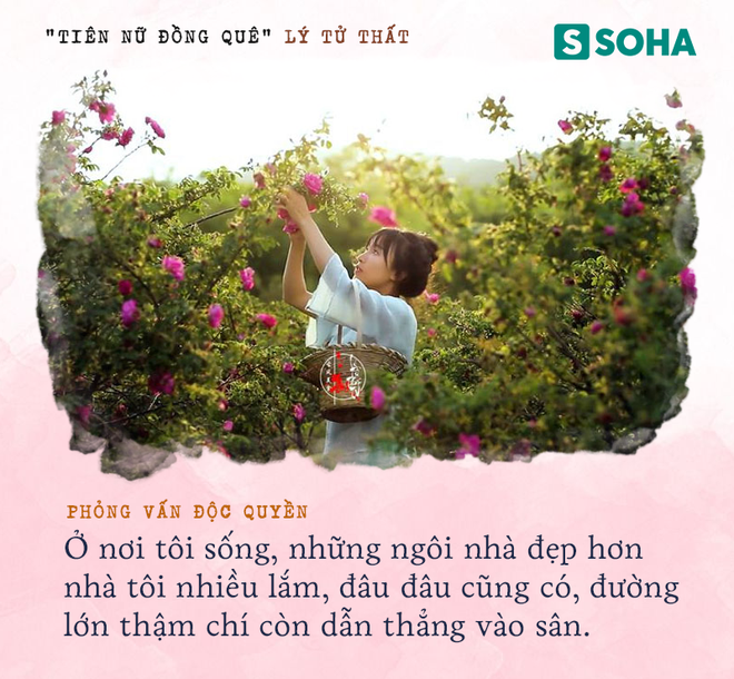 Lý Tử Thất trả lời độc quyền báo Việt Nam, hé lộ cuộc sống thực sau những hình đẹp như tiên cảnh - Ảnh 16.