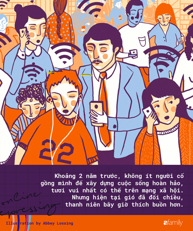 Sự mâu thuẫn buồn cười: Người già ưa hạnh phúc, người trẻ lại thích... đau buồn online - Ảnh 1.