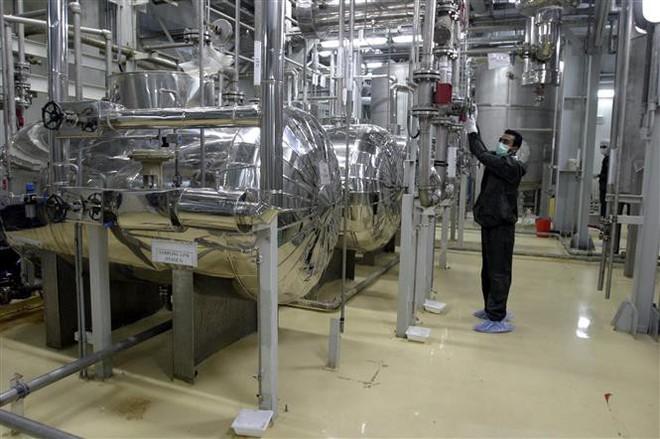 Iran tuyên bố làm giàu urani 4,5% - Ảnh 2.