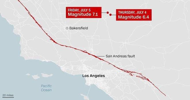 Bang California cảnh giác trước đợt dư chấn siêu mạnh - Ảnh 3.