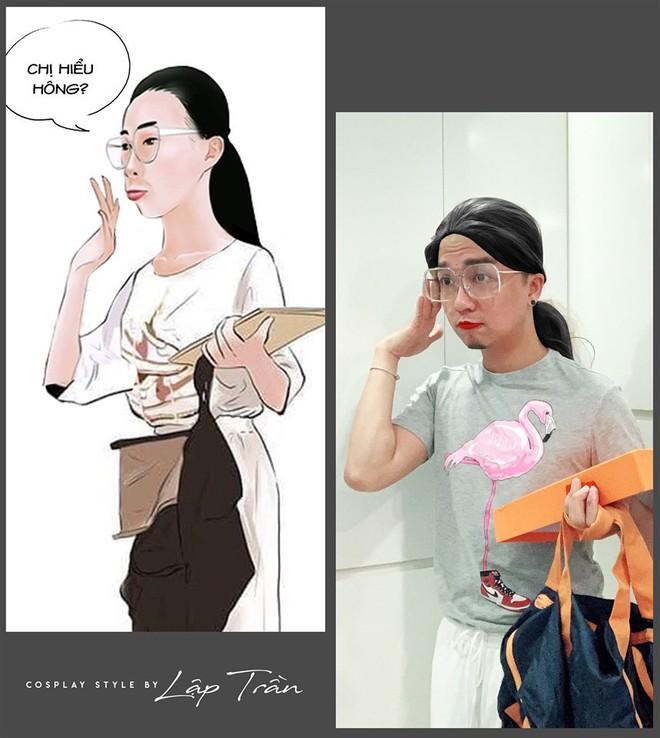 Xuất hiện thánh cosplay Việt: Đội vỏ bưởi liền hoá thành Taylor Swift, khoác cái chăn lại thấy giống Chi Pu - Ảnh 5.