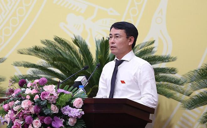 """Chất vấn """"nóng"""" tại HĐND TP.Hà Nội: Đại biểu đề nghị Giám đốc Sở TN&MT đọc lại luật Đất đai"""